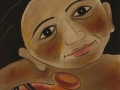 Mujer con basija